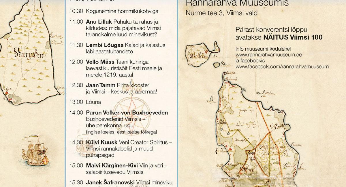 Viimsi Rannarahva muuseum - Ajaloo konverents